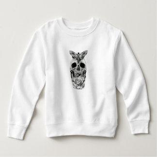 スカルの蝶 スウェットシャツ