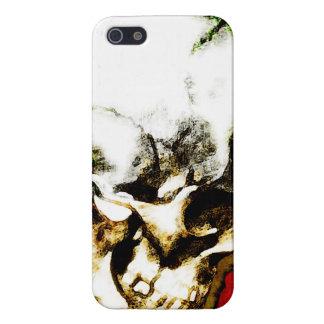 スカルの覆い iPhone SE/5/5sケース
