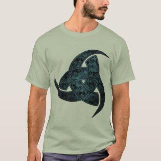 スカルの角のワイシャツ Tシャツ