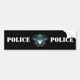 スカルの警官 バンパーステッカー