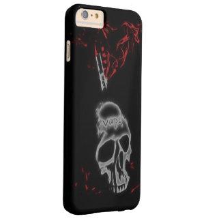 スカルの赤い煙Vape iPhone 6 Plus ベアリーゼアケース