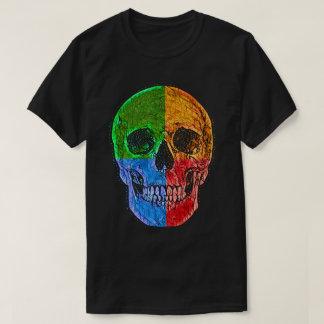 スカルの車輪 Tシャツ