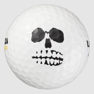 スカルの顔 ゴルフボール