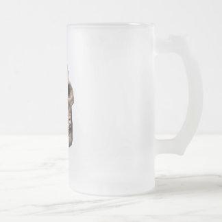 スカルの骨 フロストグラスビールジョッキ