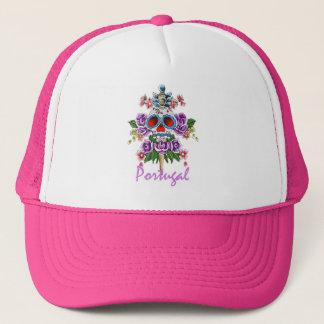 スカルのCollorfullの帽子 キャップ