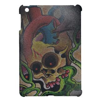 スカルのipadの小型場合 iPad mini カバー