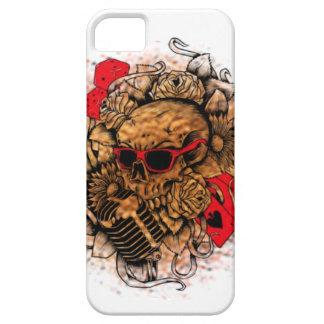スカルのIphoneの幸運な場合 iPhone SE/5/5s ケース