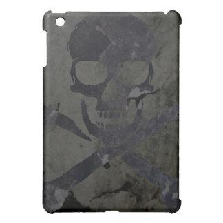 スカルのSpeckの石造りの場合3 iPad Miniケース