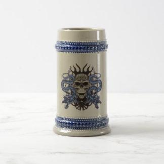 スカルドラゴンのマグ ビールジョッキ