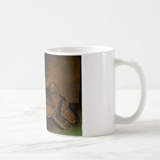 スカルビールボクシング コーヒーマグカップ