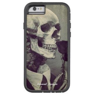 スカル及びばら色のiPhone6ケース Tough Xtreme iPhone 6 ケース