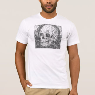 スカル及びアーチの錯覚 Tシャツ