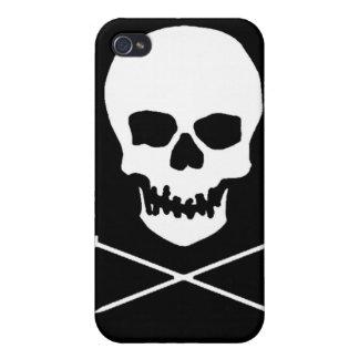 スカル及び針のiPhoneの場合 iPhone 4/4S ケース