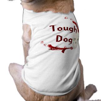 スカル犬のワイシャツ ペット服