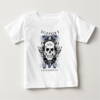 スカル1サポート ベビーTシャツ