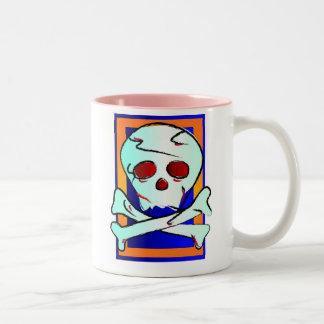 スカル ツートーンマグカップ