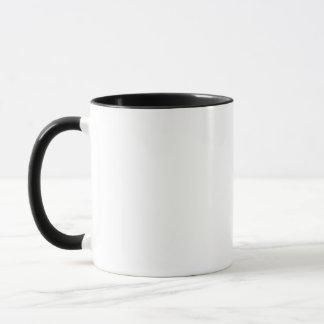 スカル: ヘッドホーン及び黒いタートル・ネック マグカップ