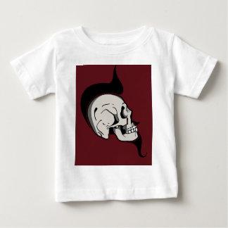 スカル ベビーTシャツ