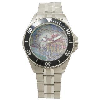 スカル 腕時計
