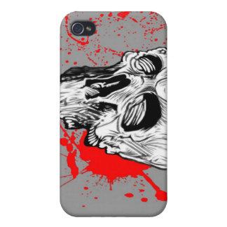スカル 血 iPhone 4 CASE