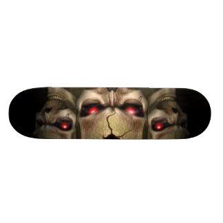 スカル 20.6CM スケートボードデッキ