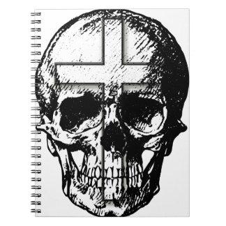 スカルnの十字 ノートブック