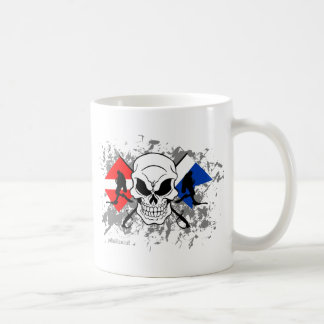 スカルTECHのダイバー コーヒーマグカップ
