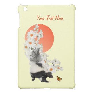 スカンクは花をかぐも時間を必要とします! iPad MINIカバー