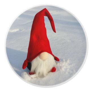 スカンジナビアのクリスマスの格言 セラミックノブ
