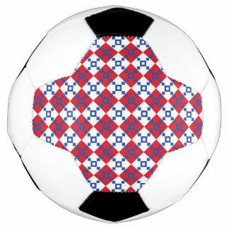 スカンジナビアのクリスマスパターン サッカーボール