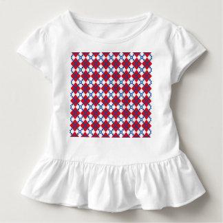スカンジナビアのクリスマスパターン トドラーTシャツ