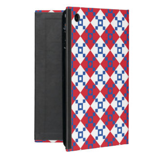 スカンジナビアのクリスマスパターン iPad MINI ケース