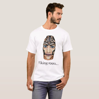 スカンジナビアのバイキング-バイキングの根 Tシャツ