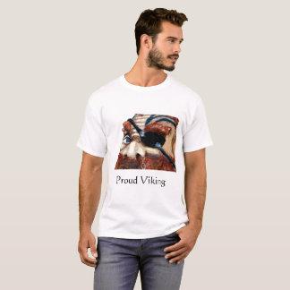 スカンジナビアのバイキング-誇りを持ったなバイキング Tシャツ
