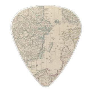 スカンジナビアのバルト海、スウェーデン、デンマーク アセタール ギターピック