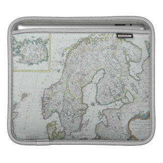 スカンジナビアの地図 iPadスリーブ