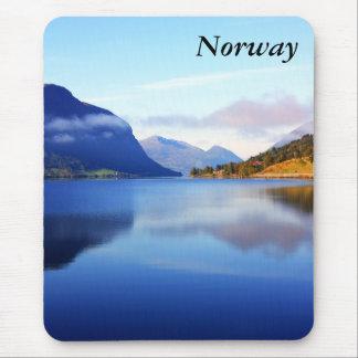 スカンジナビアの美しい、ノルウェー マウスパッド
