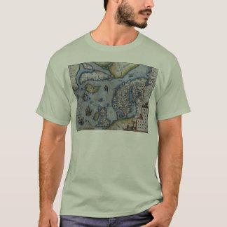 スカンジナビアの16世紀な地図 Tシャツ