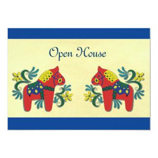 スカンジナビア人のオープンハウスのパーティー カード