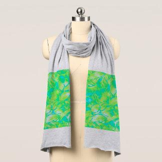 スカーフのグランジな芸術の花柄の抽象芸術 スカーフ