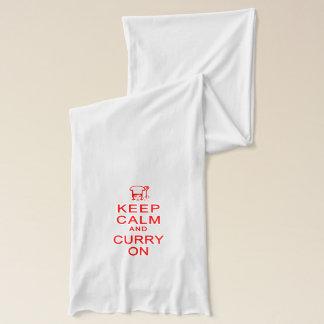 スカーフの平静及びカレーを保存して下さい スカーフ