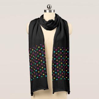 スカーフの水玉模様 スカーフ
