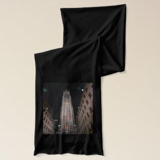 スカーフ: NYC 30ロックフェラーの中心 スカーフ