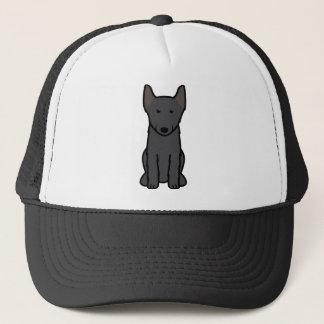 スキッパーキ犬の漫画 キャップ