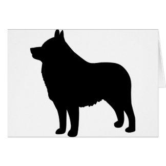 スキッパーキ犬 カード