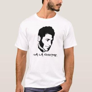 スキップのVivaのLaのチョップ Tシャツ