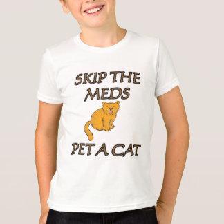 スキップMEDペットA CAT Tシャツ