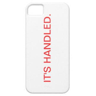 スキャンダルそれはiPhoneの場合を扱いました iPhone SE/5/5s ケース