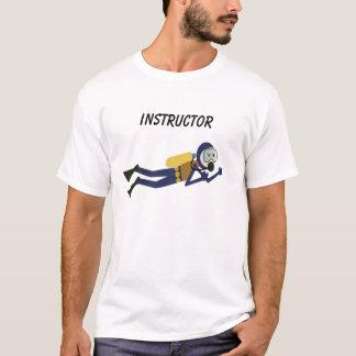 スキューバインストラクターのTシャツ Tシャツ