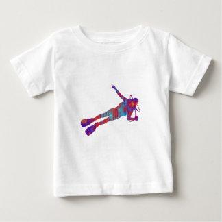 スキューバスキューバ飛び込み ベビーTシャツ